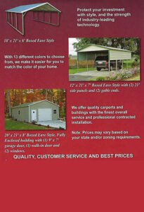 CB10 Portable Buildings and Carports | Sheds